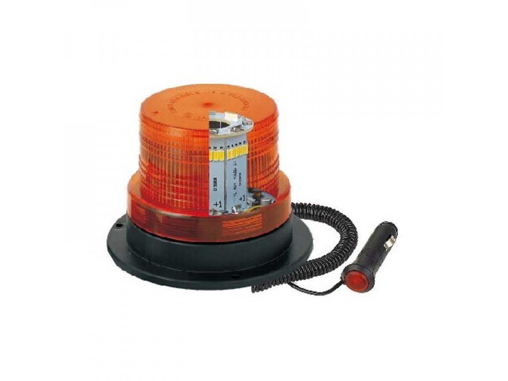 Výstražný maják 40 LED 20W R65 R10 (magnetický)