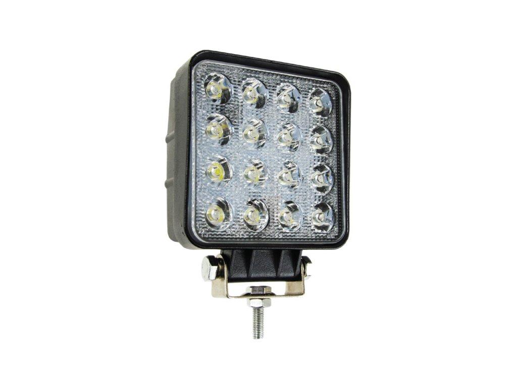 Pracovné LED svetlo 16x LED AWL05 EMC 108x108 48W FLAT 9-60V