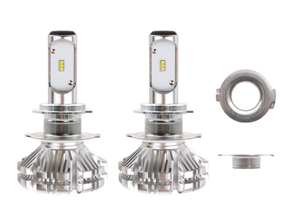 LED žiarovky pre hlavné svietenie H7-4 SX-séria AMiO