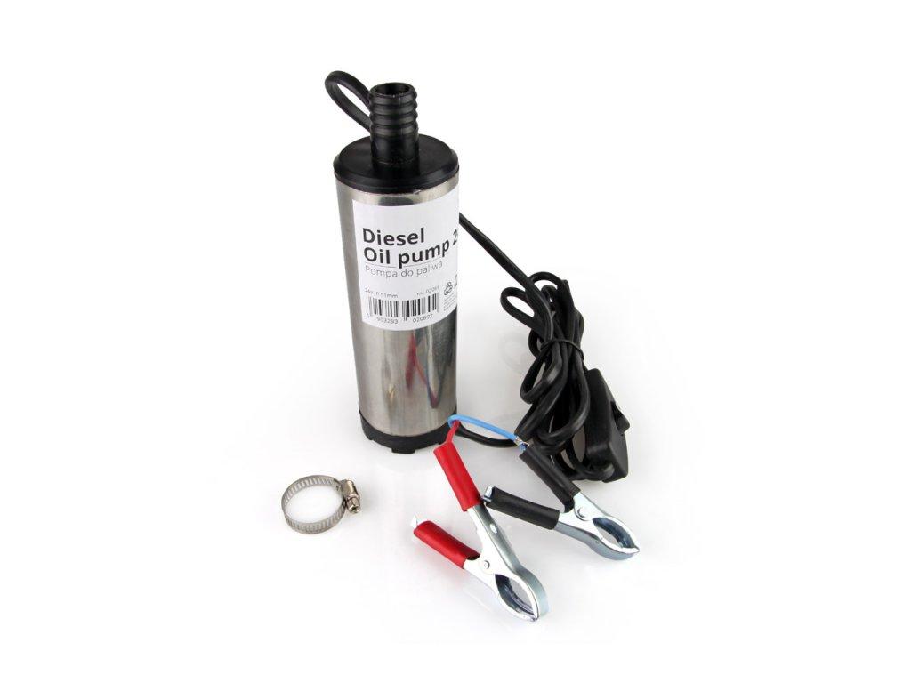 Elektrické nafta čerpadlo 24 V ponorný priemer 51 mm