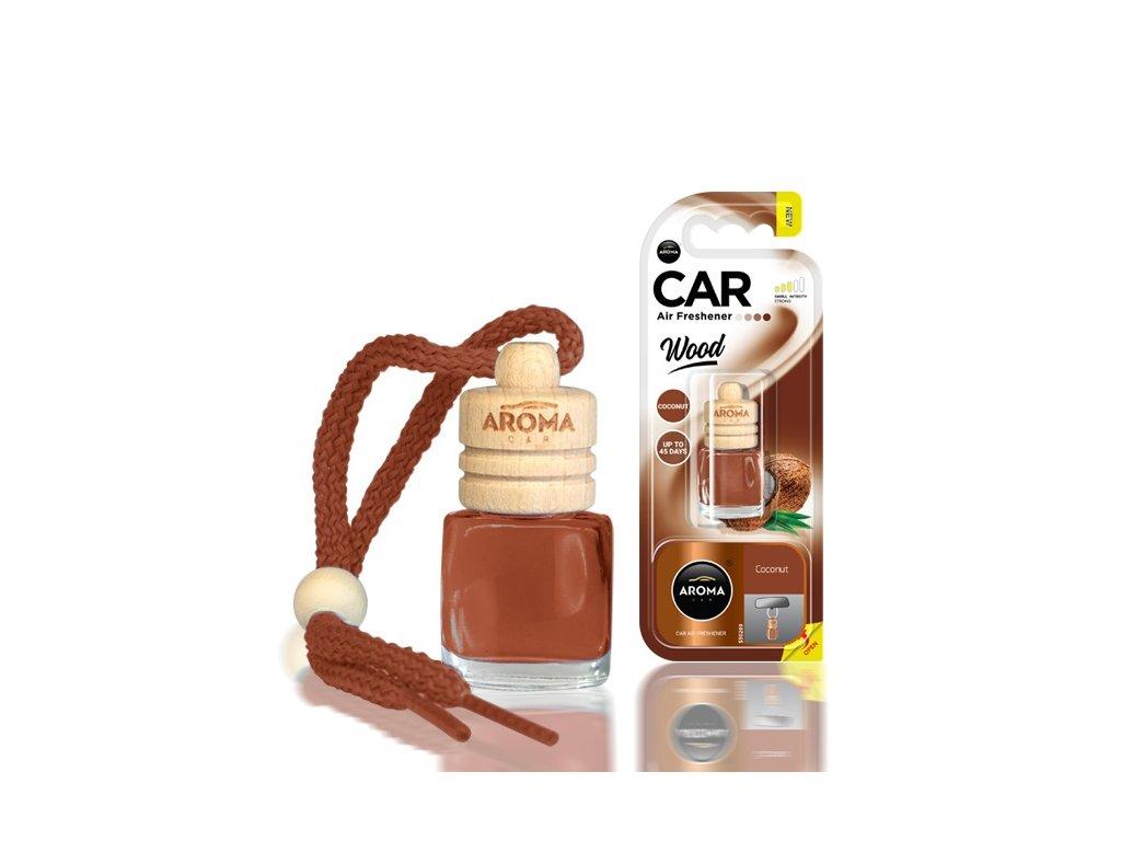 Osviežovač vzduchu AROMA CAR WOOD COCONUT