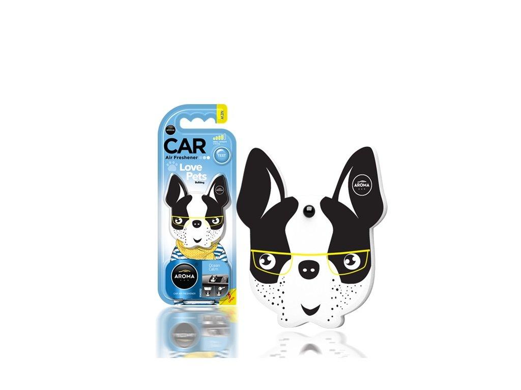 Osviežovač vzduchu AROMA CAR DOG Ocean Calm Polymér