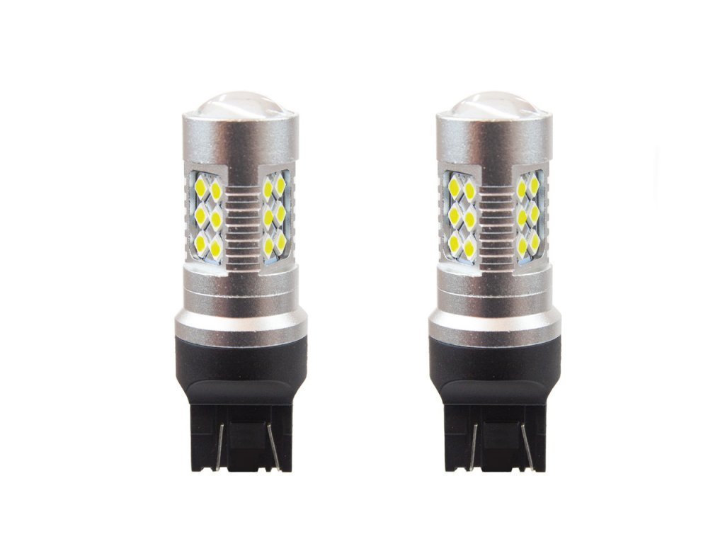 LED žiarovky CANBUS 24SMD 3030 T20 7443 21/5W White 12V/24V