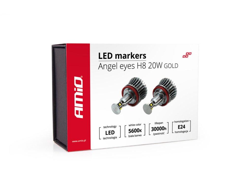 LED marker H8 20W GOLD