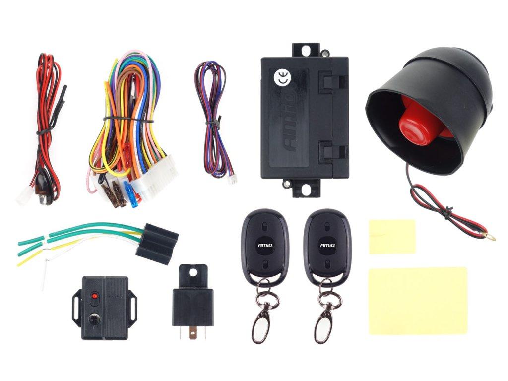 Alarm do auta s diaľkovými ovládačmi CA14