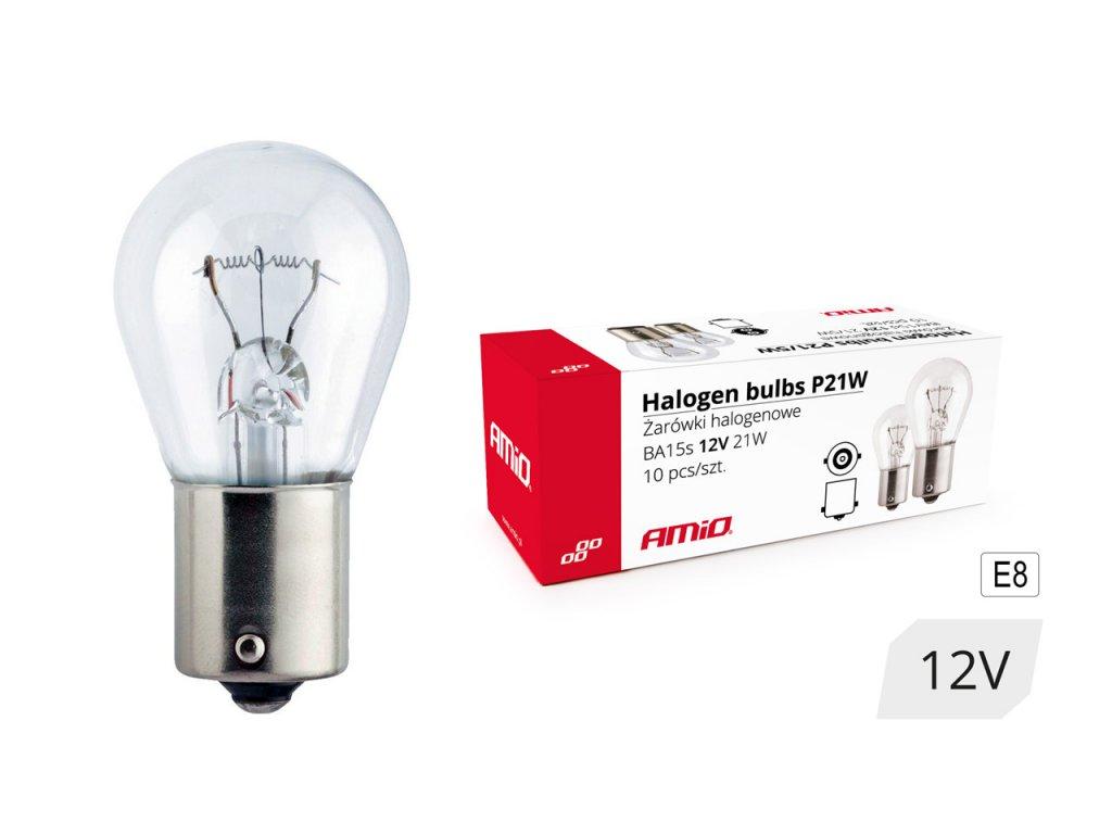 Halogénové žiarovky P21W BA15s 12V 21W