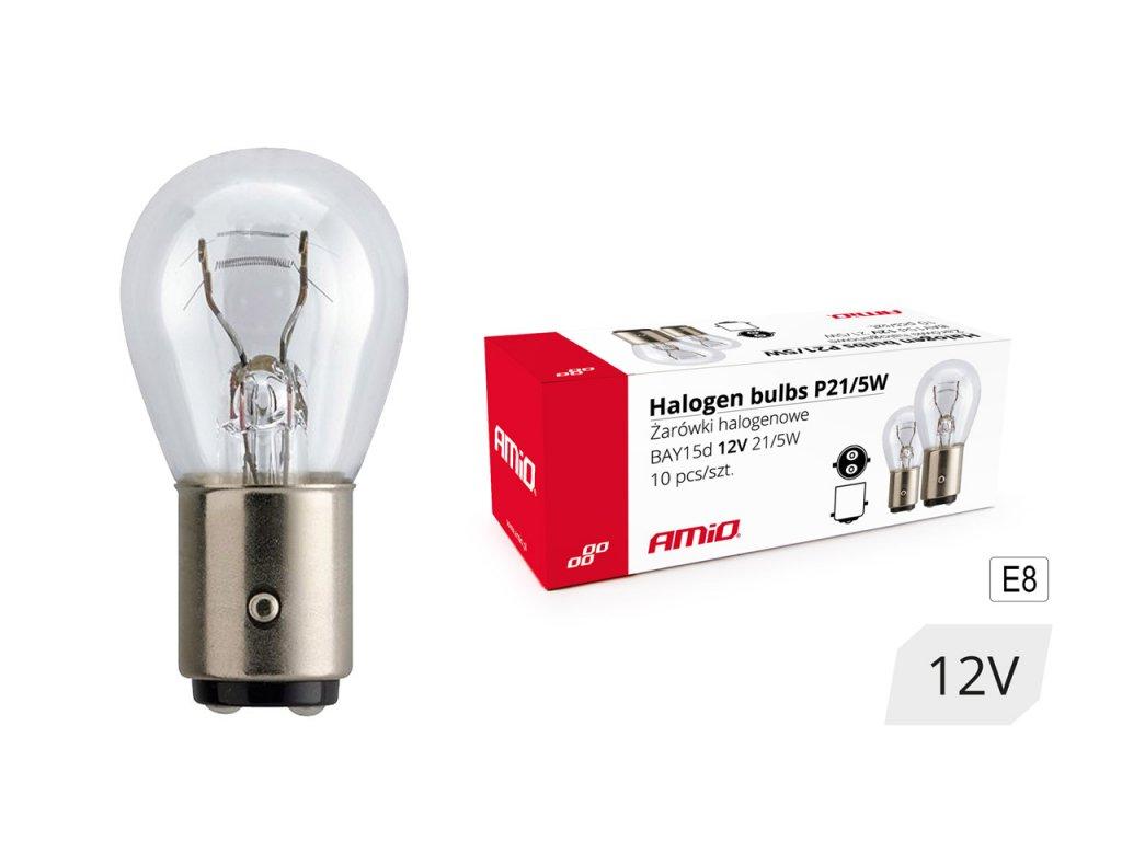 Halogénové žiarovky P21/5W BAY15D 12V 21W/5W