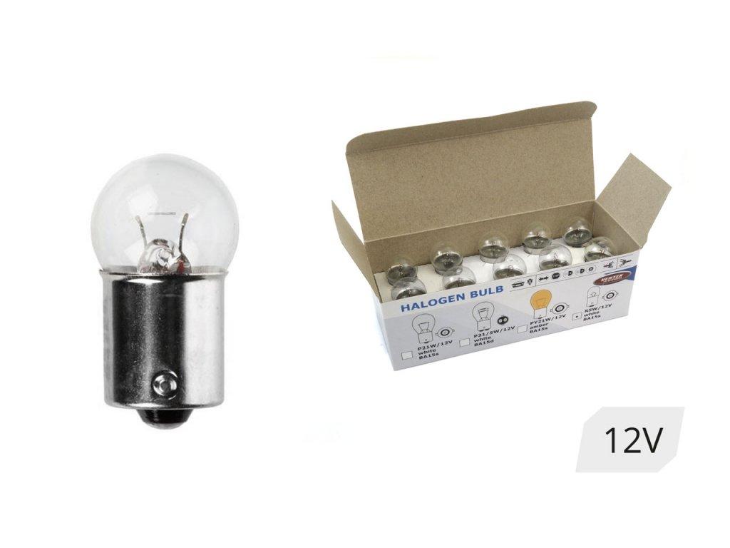 Halogénové žiarovky R5W BA15s 12V 5W