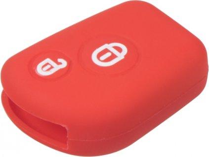 Silikónový obal pre kľúč Citroën 2-tlačidlový, červený