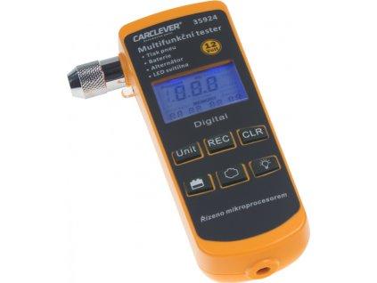 Multifunkčný tester 4v1 TPMS / batérie / nabíjanie / lampička