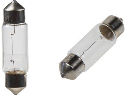 žiarovka 24V (C10W) SV8,5 biela