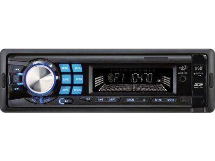 1DIN autorádio bez mechaniky USB / SD / AUX, diaľkové ovládanie