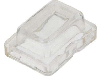 Kryt ochranný na kolískový vypínač malý (21x15mm)