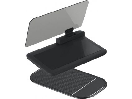 HEAD UP DISPLEJ pre smartphone, reflexná doska