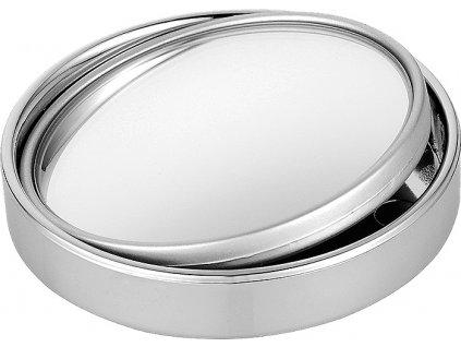 Prídavné zrkadlo sférické guľaté strieborné 1ks