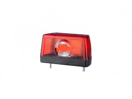 Osvetlenie ŠPZ HOR 79, červené
