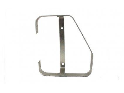 Bočný kovový rám pre svetla združené rohové, HOR 56, PRAVÝ