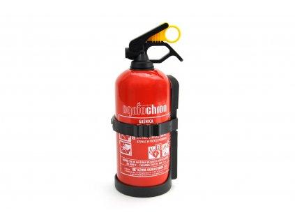 Práškový hasiaci prístroj GP-1 BC s vešiakom