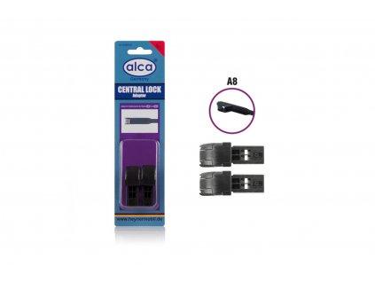 Adaptér CENTRAL LOCK A8 - blister 2 ks