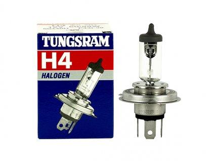 Halogénová žiarovka TUNGSRAM H4 12V 60/55 P43T