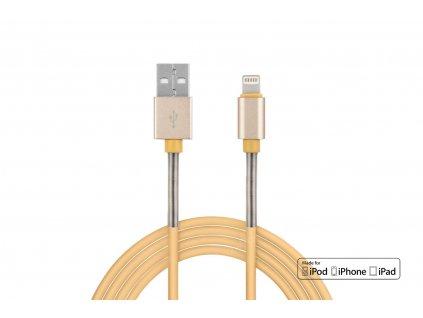 Kábel USB Lightning iPhone iPad Full LINK 2,4A