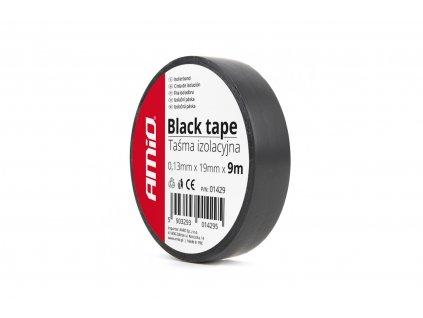 Izolačná páska, čierna 19mm x 9m