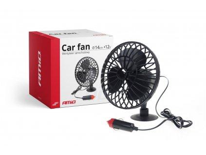 Ventilátor do auta s prísavkou mini FAN 12V