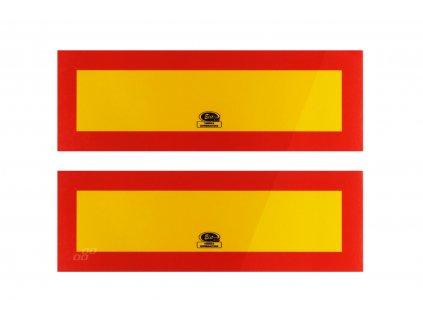 Reflexné tabule ťahač TI-P2/LAV 100x300 101-04W-92 (2 ks)