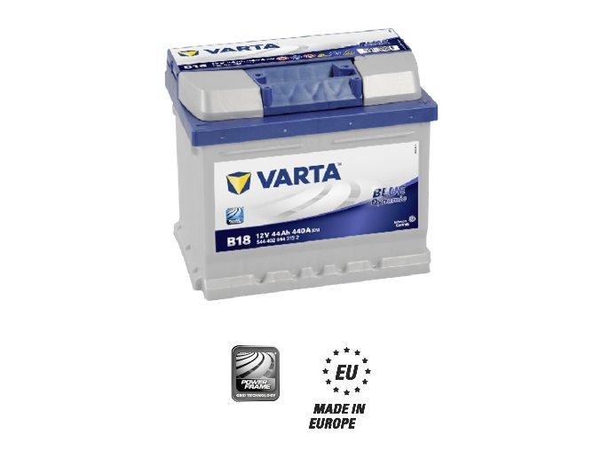 Akumulátor Varta Blue Dynamic 12V 44Ah
