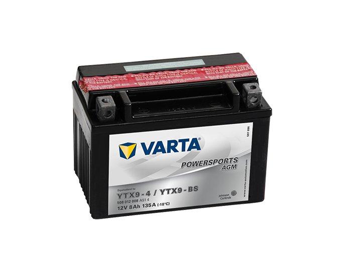 Motobaterie Varta Powersports 508 012 008