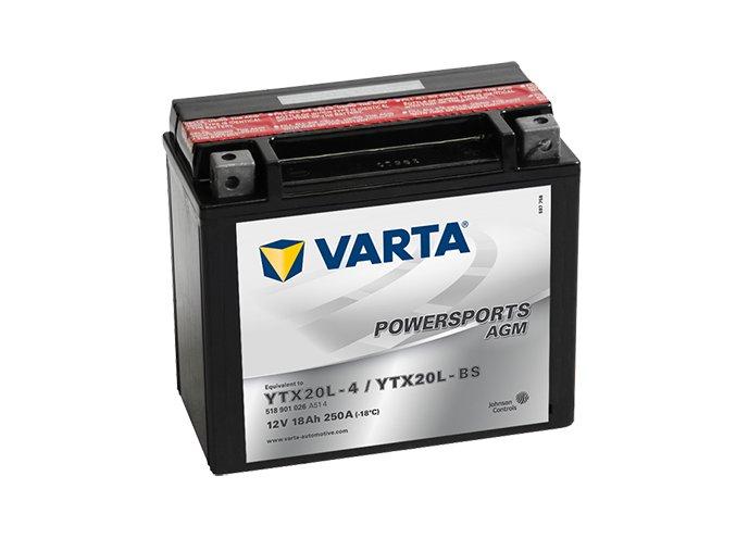 Motobaterie Varta Powersports 518 901 026