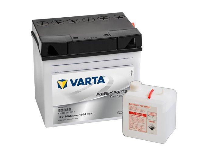 Akumulátor Varta Powersports Freshpack  12V 30Ah