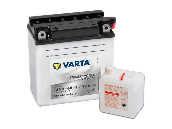 Motobaterie Varta Powersports Freshpack 509 014 008