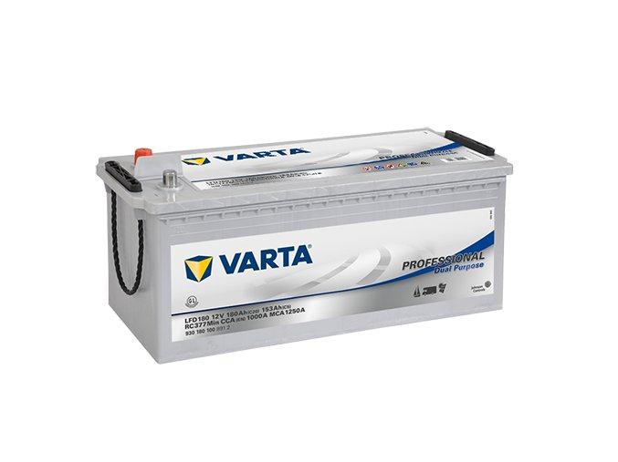 Trakční akumulátor Varta Professional Dual Purpose 12V 180Ah 1000A