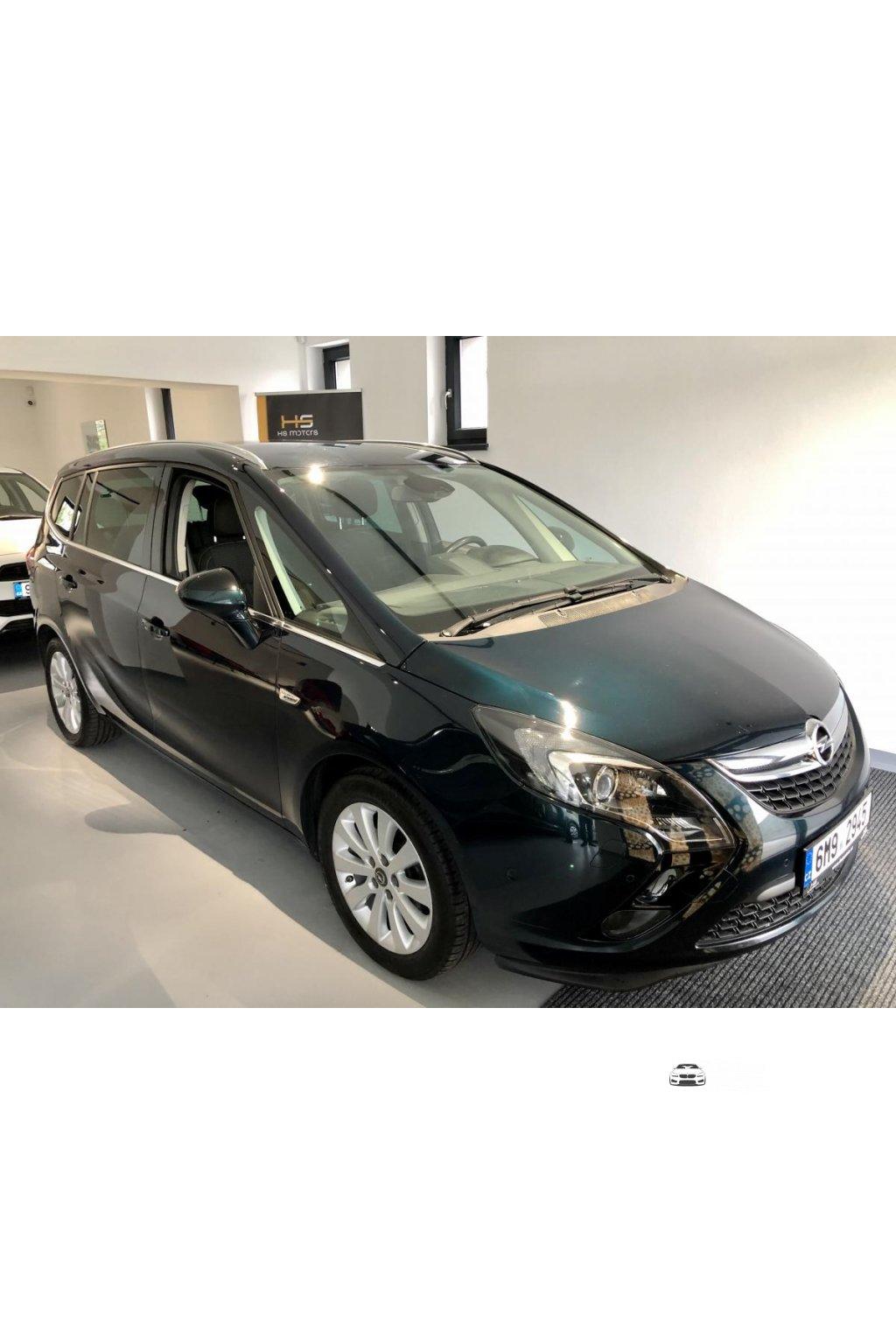 Opel zafira Cosmos maximální výbava výbava nový model 1.6 CDTI 100kw