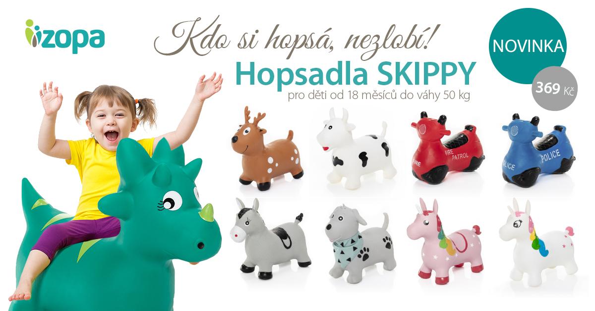 NOVINKA!!! HOPSADLA SKIPPY