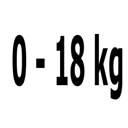 Kategorie 0-18 kg