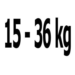 Kategorie 15-36 kg
