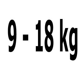 Kategorie 9-18 kg