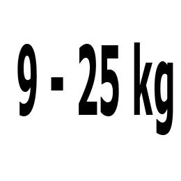 Kategorie 9-25 kg