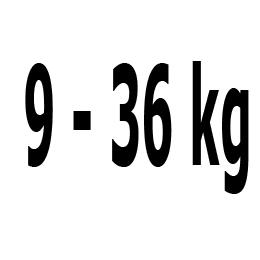 Kategorie 9-36 kg