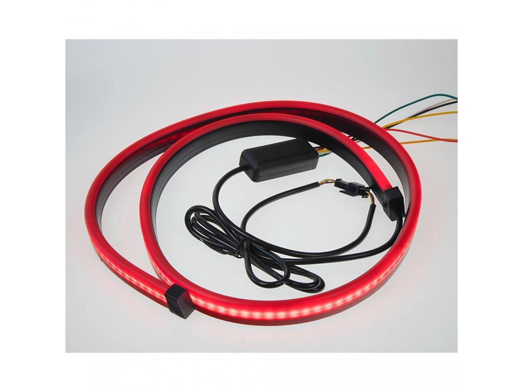 LED pásek, brzdové světlo, červený, 102 cm