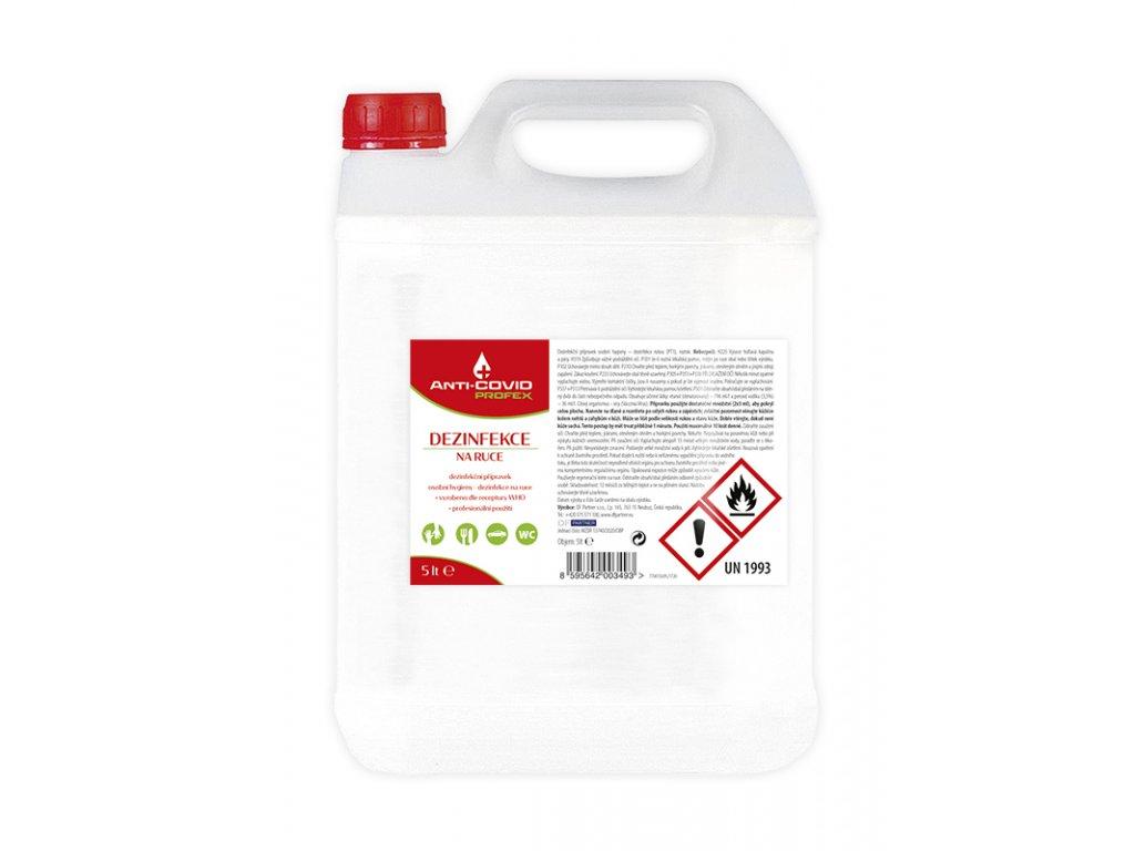 PROFEX ANTI-COVID DEZINFEKCE 5 L  Dezinfekce 5 L
