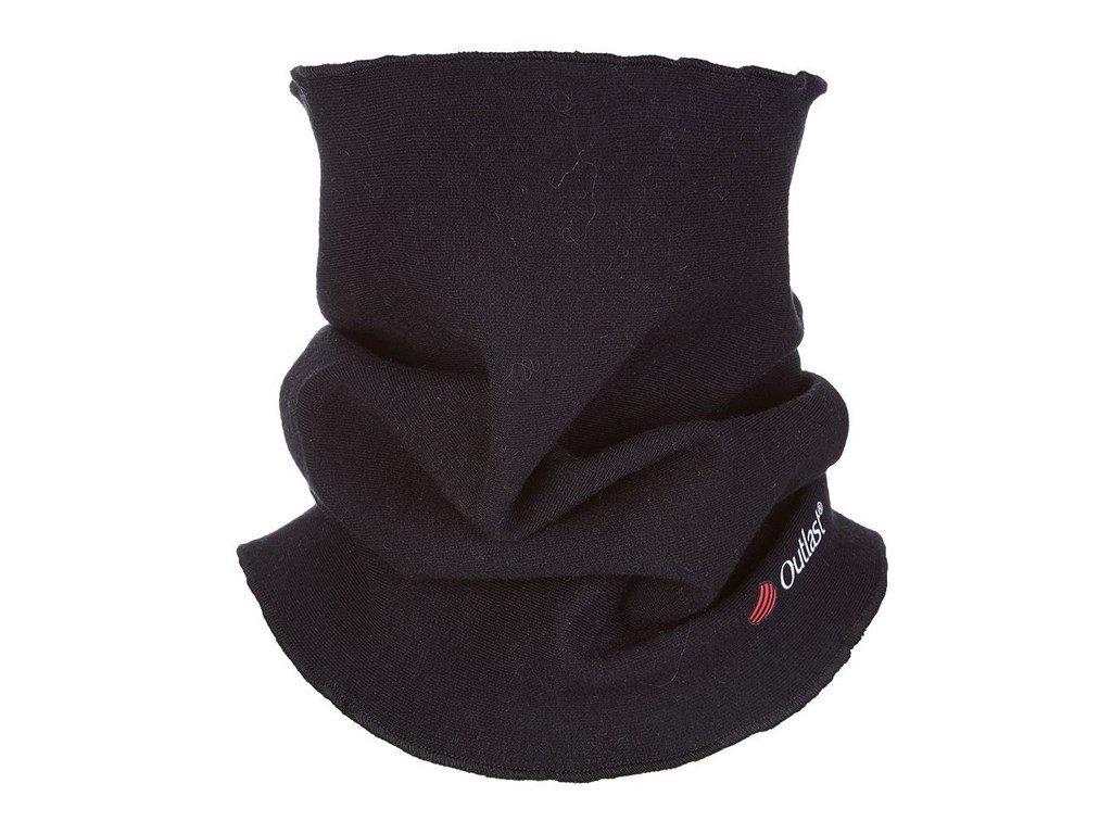 Nákrčník dětský smyk Outlast® - černá (Velikost UNI)