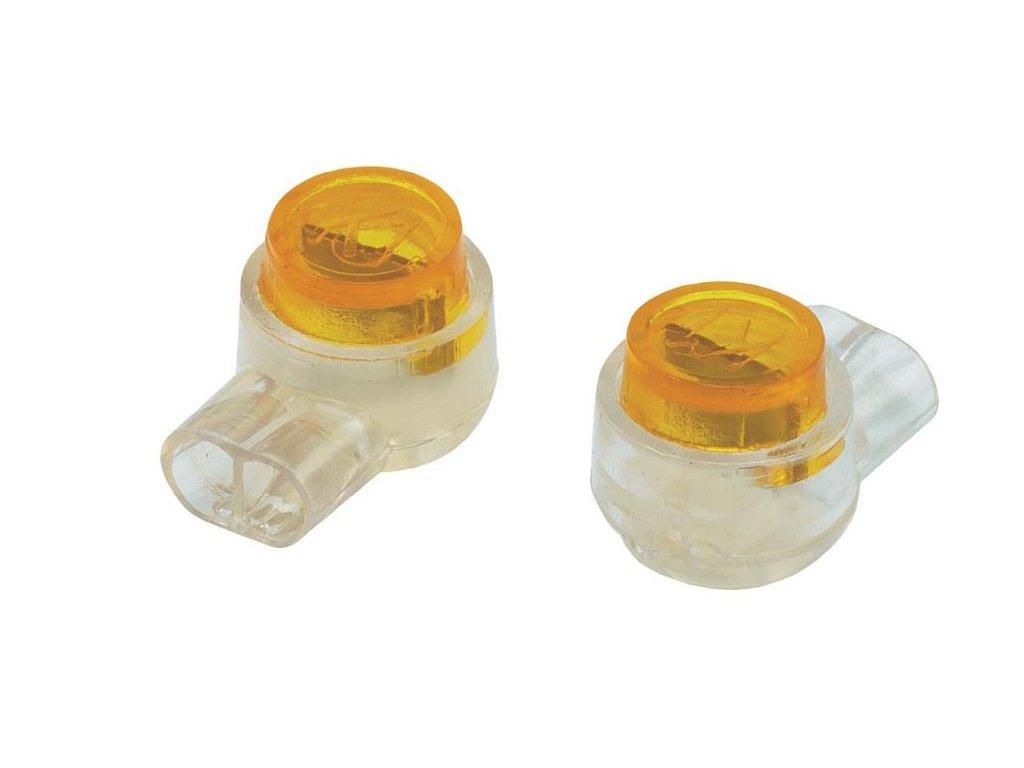 Svorka, 0,13 - 0,65 mm², 2pólová, žlutá