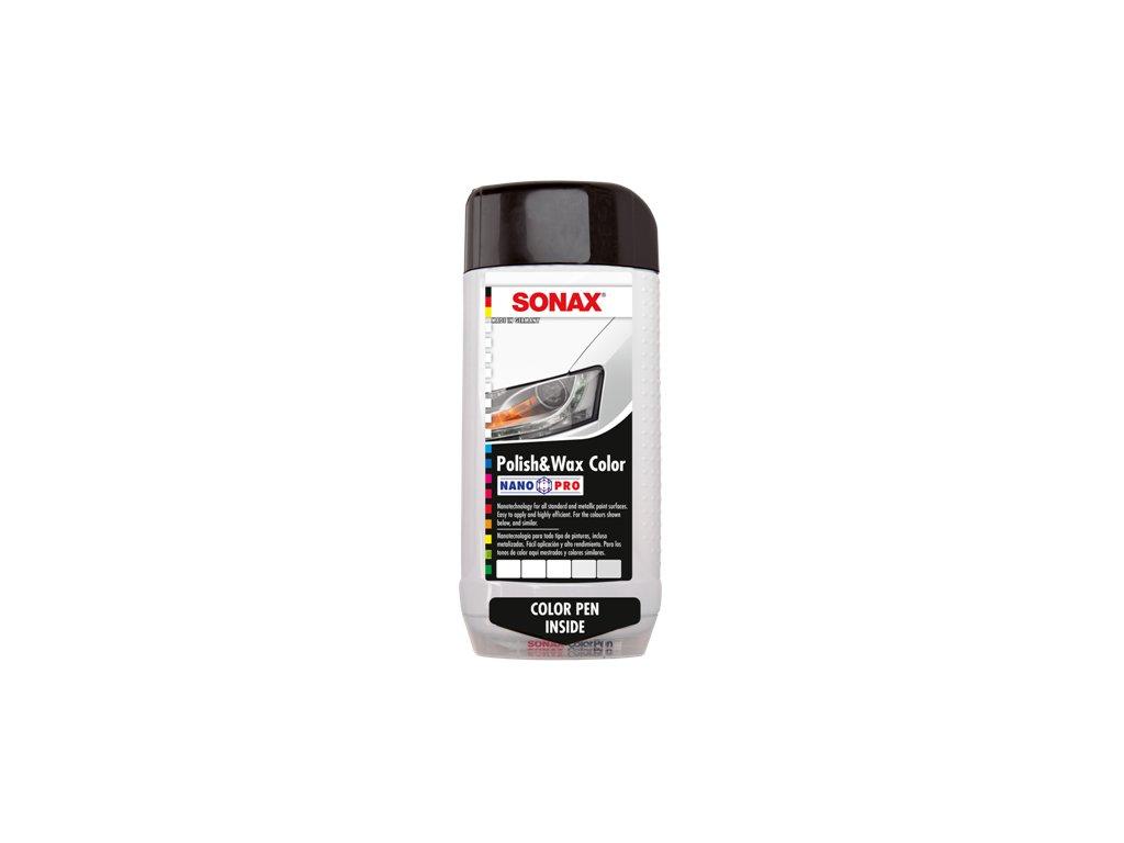 SONAX Barevná leštěnka NanoPro bílá