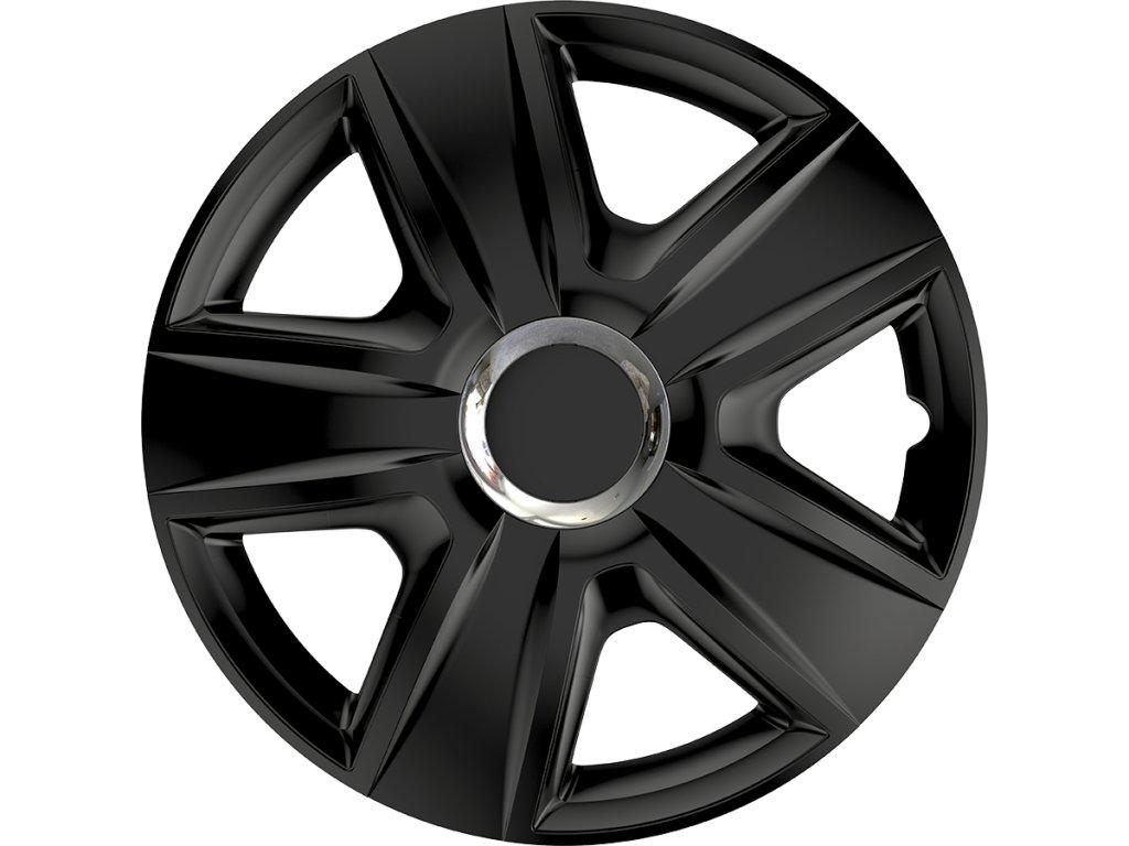 "Kryty kol - poklice Esprit RC 14"" Ring Chrome Black  Kryty kol - poklice"