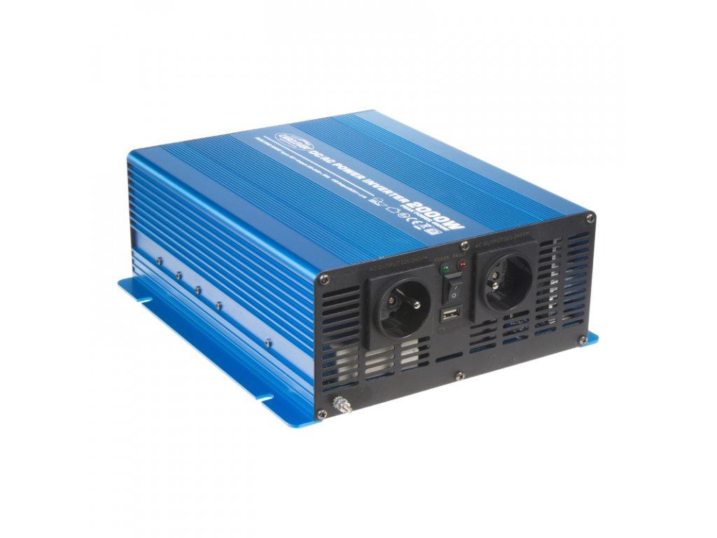 Sinusový měnič napětí z 12/230V, 2000W
