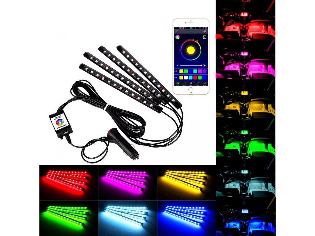 Interierové LED neony MULTICOLOR pro iOS Android