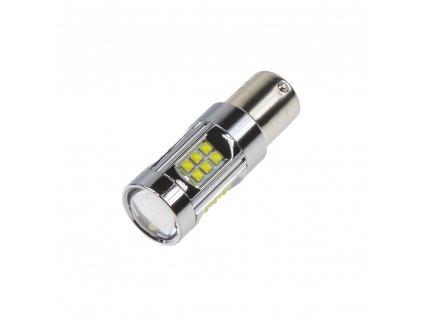 CREE LED BA15S 12-24V, 150W (30x5W) bílá